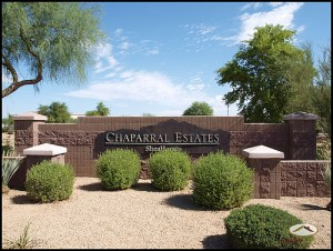 Chaparral Estates in Gilbert AZ